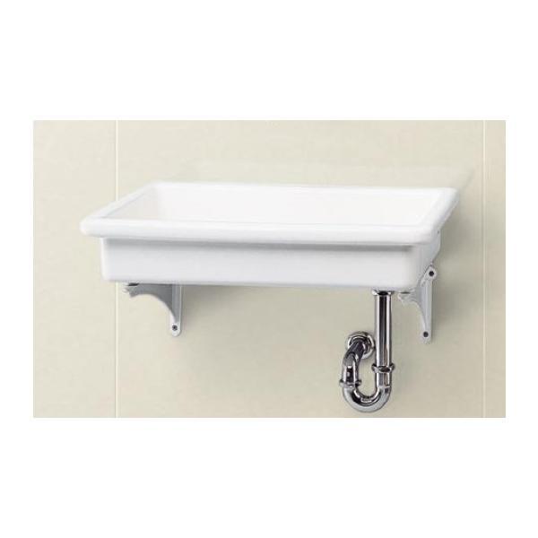 手洗器 特定施設用 TOTO SK6 陶器製流し(中形) 流しのみ 研究室・実験室用器具 [■♪]