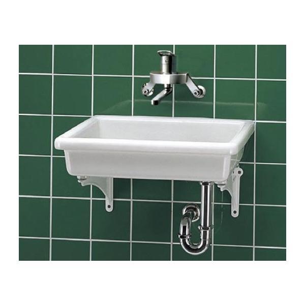 RoomClip商品情報 - 手洗器 特定施設用 TOTO SK7 陶器製流し(小形) 流しのみ 研究室・実験室用器具 [■♪]