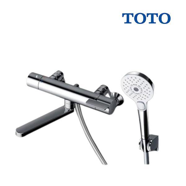在庫あり TOTO浴室用水栓金具TBV03404JGGシリーズ壁付サーモスタット混合水栓(コンフォートウェーブ3モードめっきシ