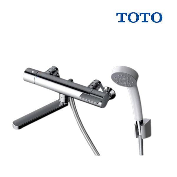 在庫あり TOTO浴室用水栓金具TBV03406JGGシリーズ壁付サーモスタット混合水栓(コンフォートウェーブシャワー)スパウ
