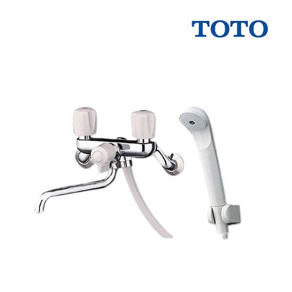 在庫あり TMS25CTOTOシャワー水栓・一般シリーズ・壁付タイプ・スプレー(節水)  2