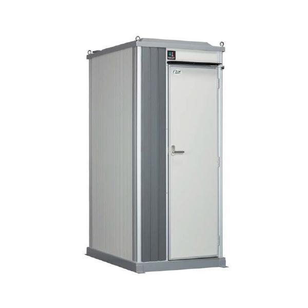 仮設トイレ ハマネツ TU-EP1F4W-C 屋外用 エポックトイレ ポンプ式簡易水洗タイプ 洋式 [♪■※関東送料無料]