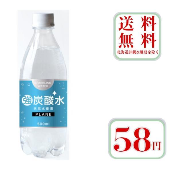 炭酸水強炭酸500mlペットボトル24本入2ケース合計48本