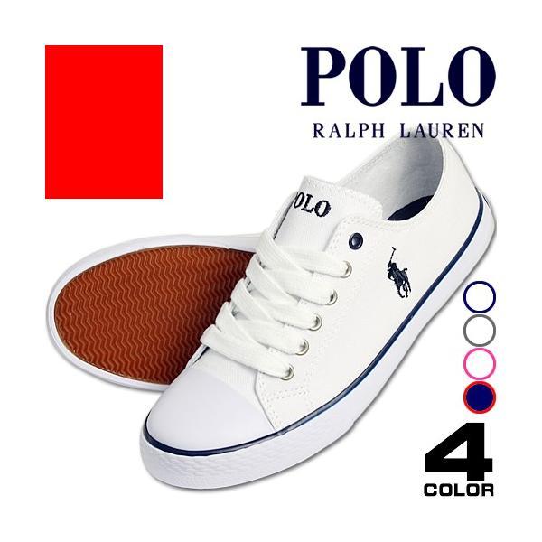 ポロ ラルフローレン Polo Ralph Lauren スニーカー 正規 レディース 白 きれいめ ブランド Carson Lace GIBBS [アウトレット]