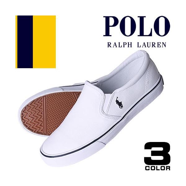 ポロ ラルフローレン Polo Ralph Lauren スニーカー 正規 レディース スリッポン 白 黒 きれいめ ブランド Carlee Twin Gore2