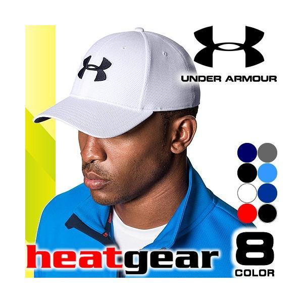 c92f1296e3d アンダーアーマー UNDER ARMOUR キャップ メンズ スポーツキャップ 帽子 ヒートギア メッシュ ランニング ゴルフ ストレッチ  大きいサイズ 1254123