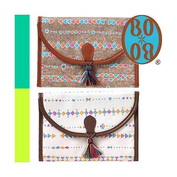 ボボ BBOBO 母子手帳ケース マルチケース ジャバラ ブランド おしゃれ 2人用 通帳ケース ファスナー 使いやすい 出産祝い 男 女 プレゼント