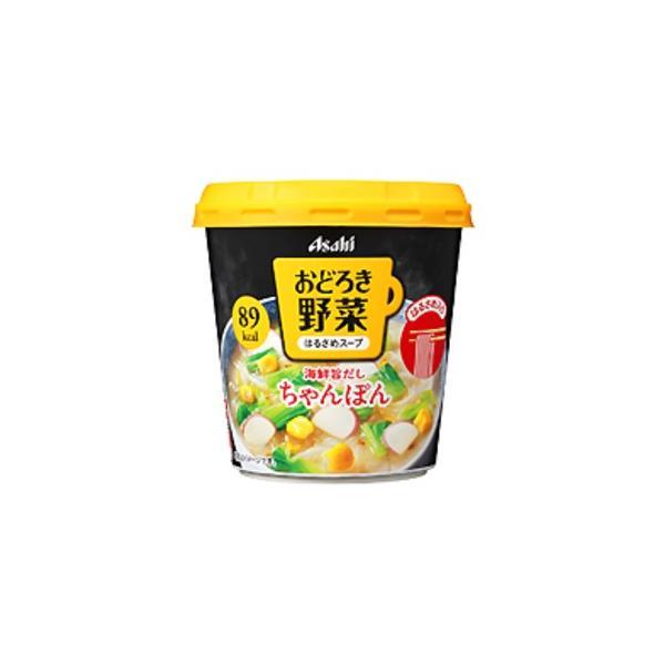 送料無料 〔まとめ買い〕アサヒフーズ おどろき野菜 ちゃんぽん 24カップ入り(6カップ×4ケース)