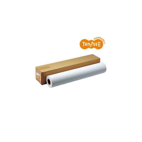 送料無料 TANOSEE インクジェット用フォト半光沢紙(RCベース) 42インチロール 1067mm×30.5m 2インチ紙管