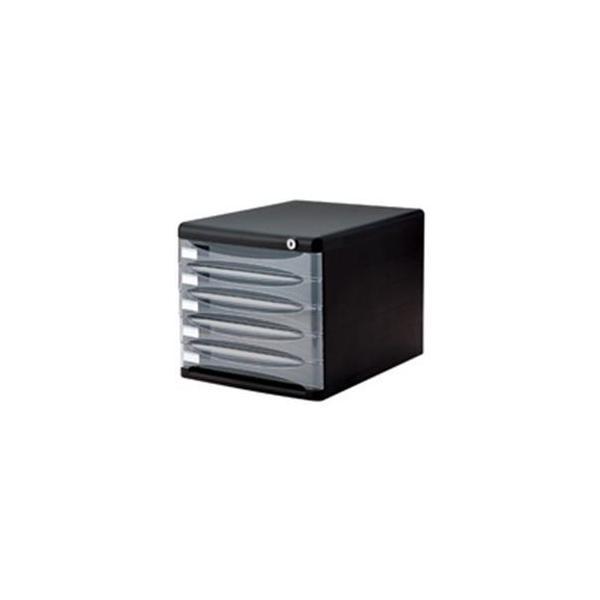 送料無料 いよいよ人気ブランド ナカバヤシ NEW ARRIVAL デスクトップ5段 A4-SK5D ブラック