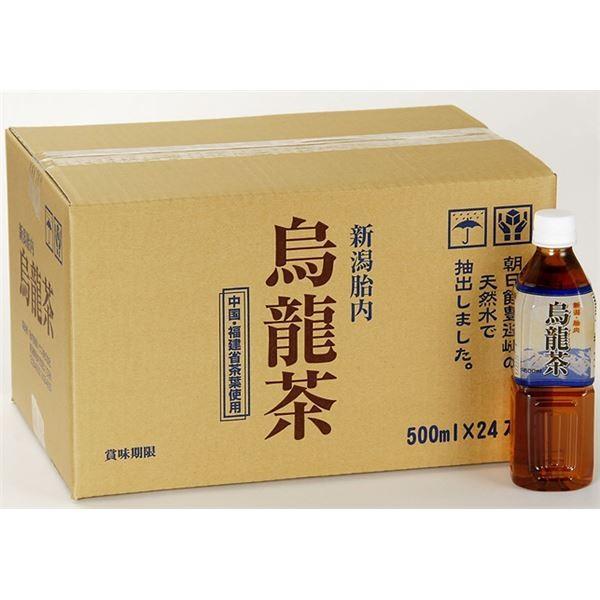 超定番 送料無料 新潟 胎内高原の烏龍茶 ペットボトル 大規模セール 500ml×48本