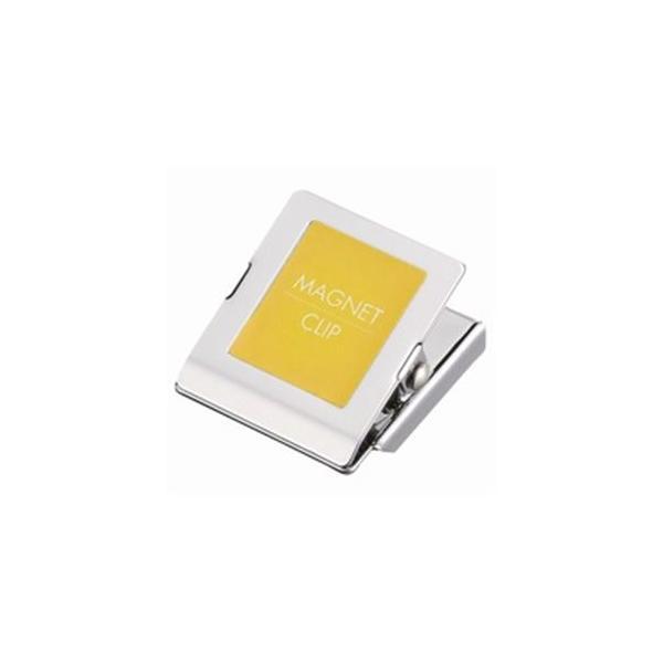 お金を節約 送料無料 ブランド買うならブランドオフ 業務用20セット ジョインテックス マグネットクリップ中 黄 B148J-Y