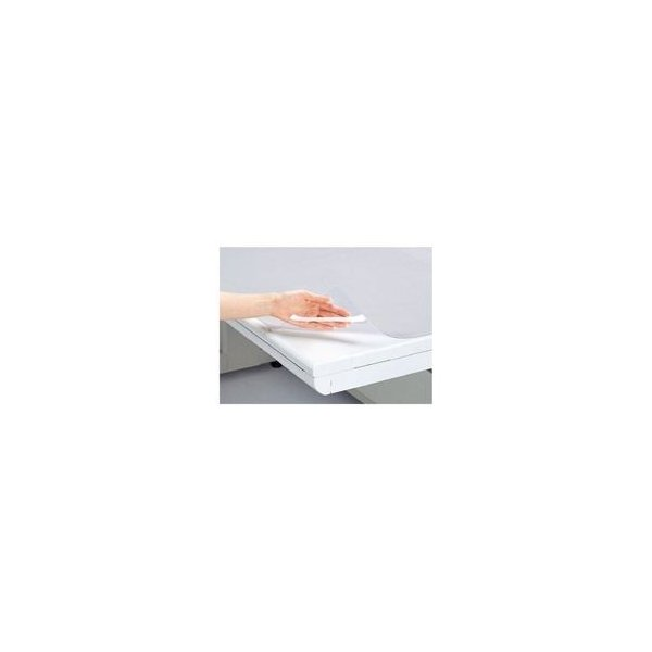 送料無料 (業務用3セット) プラス 塩ビデスクマット/卓上マット 〔シングル/900mm×620mm〕 DM-007
