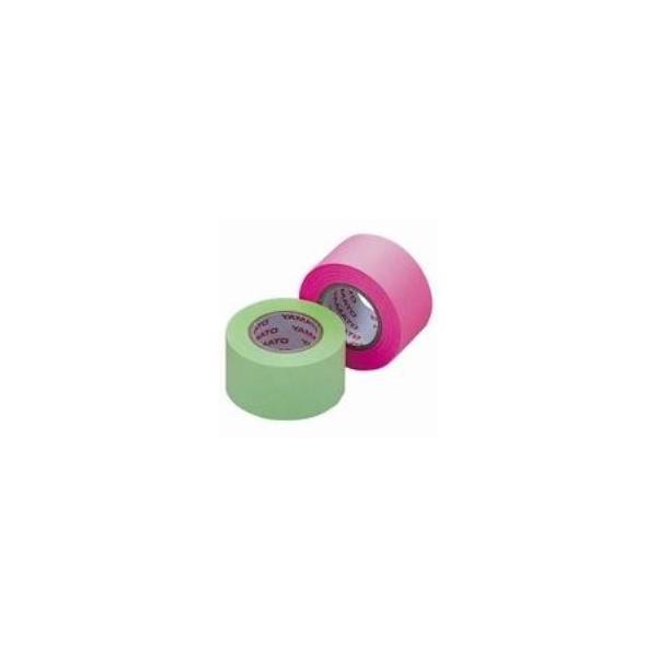 送料無料 (まとめ)ヤマト メモックロール替テープ蛍光 WR-25H-6B〔×10セット〕