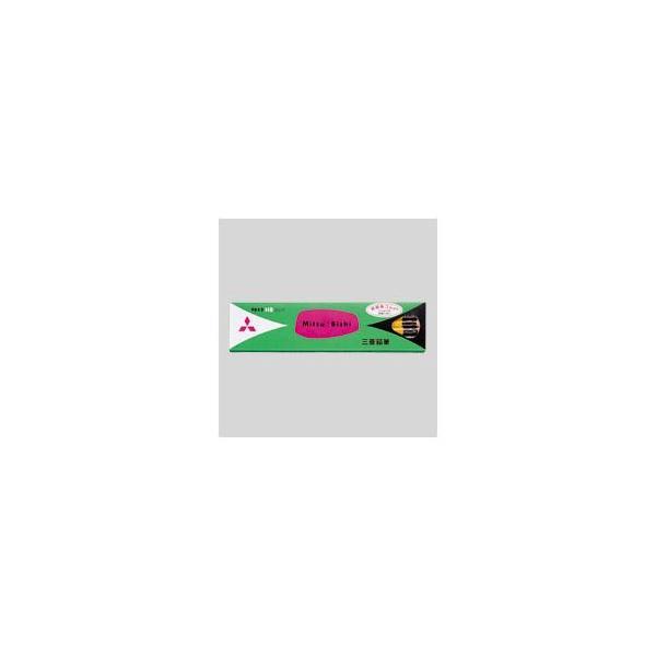 送料無料 (まとめ) 三菱鉛筆 六角消しゴム付鉛筆 K9852HB 12本入 〔×3セット〕