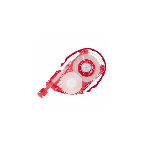送料無料 (まとめ) トンボ鉛筆 モノYX用カートリッジYR5 5mm幅×12m 赤 CT-YR5 1個 〔×20セット〕