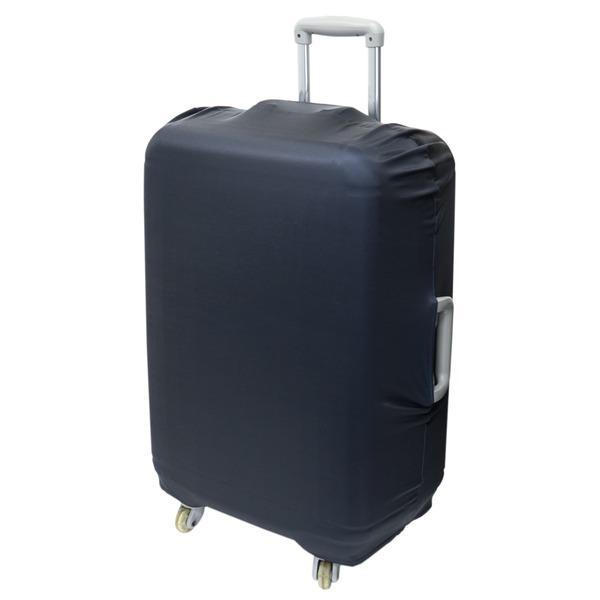 送料無料 ミヨシ スーツケースカバー スタンダードカラータイプ MBZ-SCL3/BK ブラック