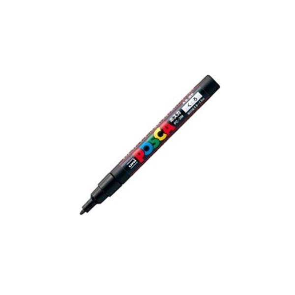 送料無料 業務用200セット 三菱鉛筆 ポスカ POP用マーカー PC-3M.24 格安激安 〔細字 黒〕 水性インク 蔵
