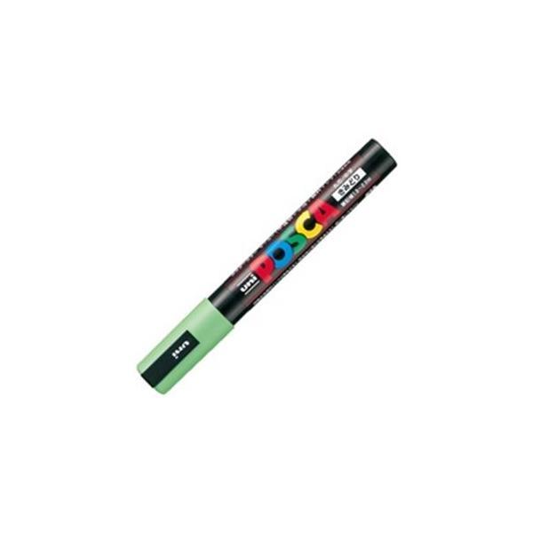 送料無料 業務用200セット 三菱鉛筆 ポスカ POP用マーカー 黄緑〕 PC-5M.5 新作送料無料 水性インク 〔中字 直送商品