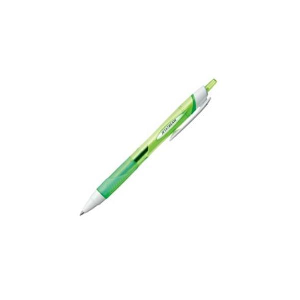 送料無料 (業務用200セット) 三菱鉛筆 油性ボールペン/ジェットストリーム 〔0.7mm/緑〕 ノック式 SXN15007.6