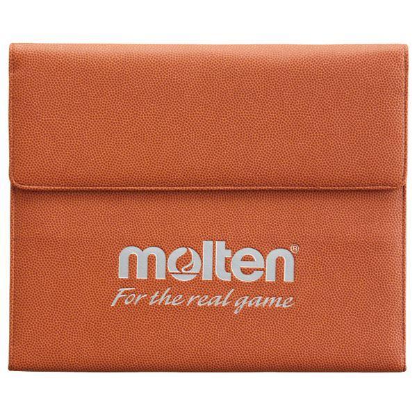 送料無料 〔モルテン Molten〕 スポーツ用 バインダー/ドキュメントケース 〔縦26.5×横32cm〕 名刺ポケット カード入 ペンホルダー付き