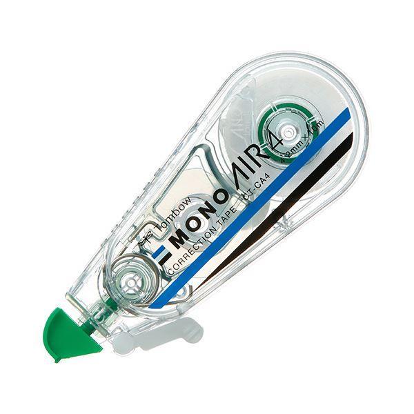 送料無料 (まとめ) トンボ鉛筆 修正テープ モノエアー4.2mm幅×10m 緑 CT-CA4 1セット(5個) 〔×5セット〕