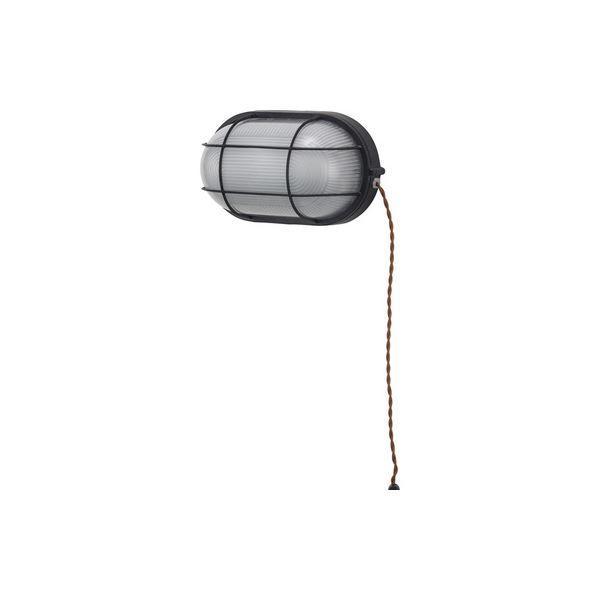 送料無料 北欧風 ブラケットライト/照明器具 〔LHT-730 幅16cm〕 アルミ ガラス 電球付き 〔壁面 家屋 マンション アパート〕