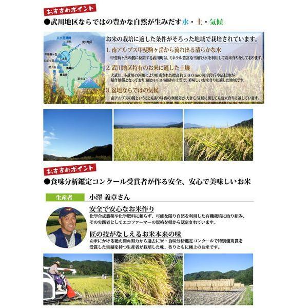 山梨県産 生産者限定  武川米 コシヒカリ 4kg  通販 山梨を代表する米職人が最高の環境で作った、ここでしか味わえない味をご堪能いただけます。|mailife|02
