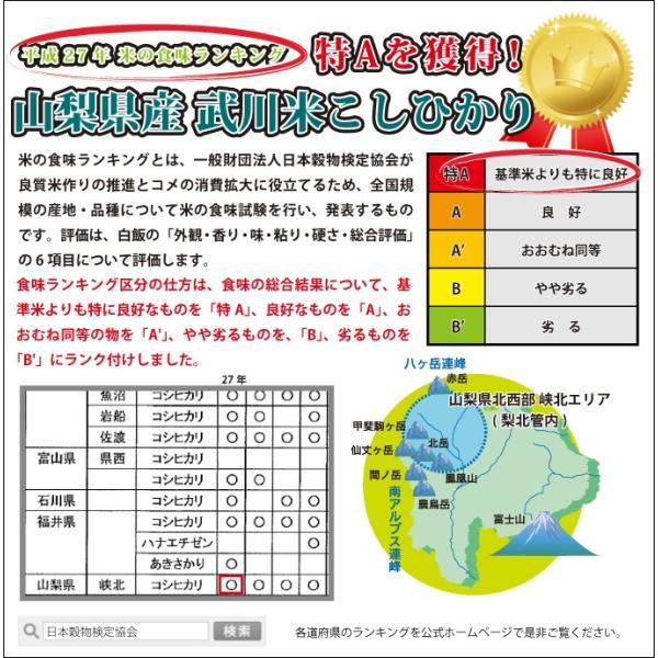 山梨県産 生産者限定  武川米 コシヒカリ 4kg  通販 山梨を代表する米職人が最高の環境で作った、ここでしか味わえない味をご堪能いただけます。|mailife|03