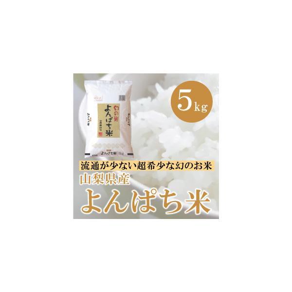 山梨県産  よんぱち米(農林48号) 5kg   白米 通販 市場に流通しない、まさに幻といわれる贅沢な味わいをお試し下さい。|mailife