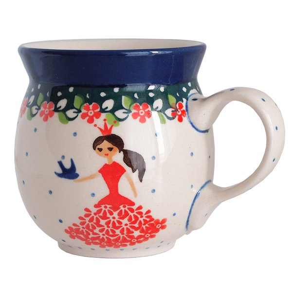 マグカップ マグ 250 ml ポーリッシュポタリー セラミカ ツェラミカ アルティスティチナ カップ ティーカップ フリーカップ|maison-fleurie
