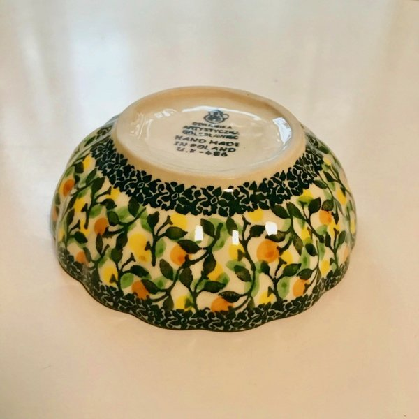 12cm フリルボウル  ポーリッシュポタリー Ceramika Artystyczna ツェラミカ アルティスティチナ|maison-fleurie|02