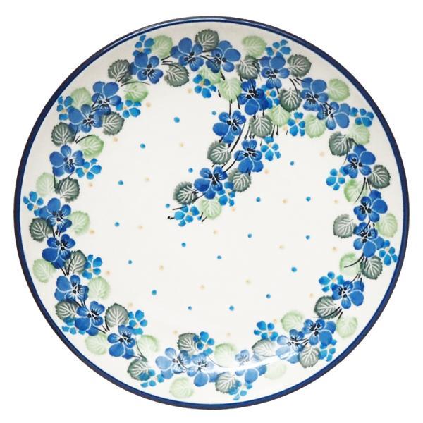 プレート 20cm ポーリッシュポタリー  ツェラミカ  アルティスティチナ カフェ 陶器 皿 食器 耐熱  おしゃれ かわいい 可愛い 花柄 プレゼント maison-fleurie