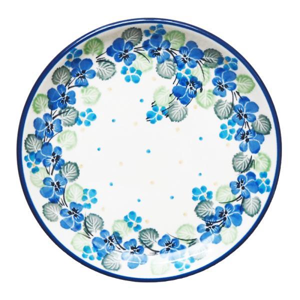 プレート 16cm ポーリッシュポタリー  ツェラミカ  アルティスティチナ カフェ 陶器 皿 食器 耐熱  おしゃれ かわいい 可愛い 花柄 プレゼント|maison-fleurie