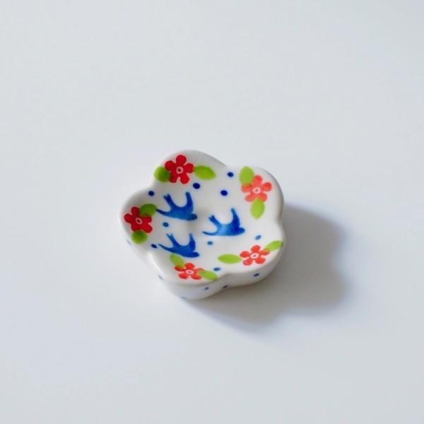 箸置き ポーリッシュポタリー ツェラミカ アルティスティチナ 陶器 はしおき|maison-fleurie