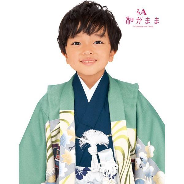 男の子5歳着物袴13点セット 和がままM501|maisugata