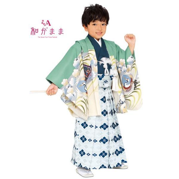 男の子5歳着物袴13点セット 和がままM501|maisugata|02
