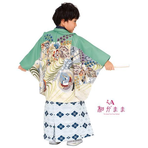 男の子5歳着物袴13点セット 和がままM501|maisugata|03