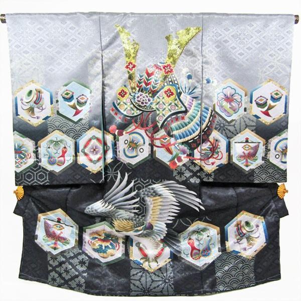[レンタル]男の子お宮参り着物9点セットrbod04|maisugatarental