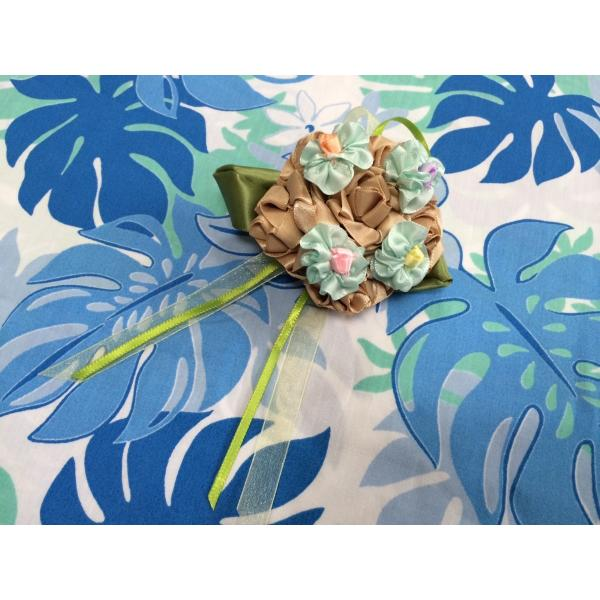 ハワイアンリボンレイ【小物の資格アクセサリーレインボー講座】11作品|makana-aloha|04