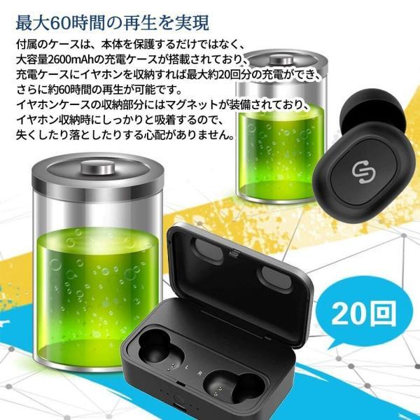 正規代理店 SoundPEATS サウンドピーツ Q32 Bluetooth イヤホン TWS Bluetooth 5.0 完全ワイヤレスイヤホン|makanainc|03