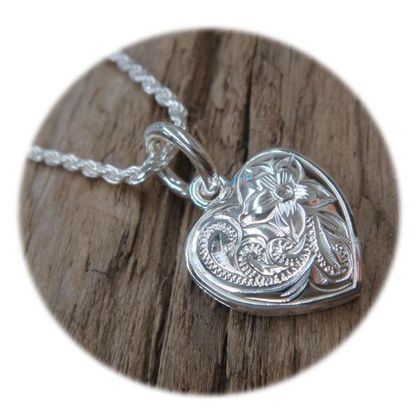 LONO ロノ ハワイアンジュエリー jewelry ネックレス ぷっくりハートが可愛い ペンダントトップ メンズ レディース