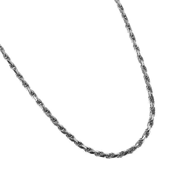 LONO ロープチェーン Rope040 40cm イエローゴールド・ピンクゴールド・ホワイトゴールド ロノ ハワイアンジュエリー Rope040gold-40 メンズ レディース