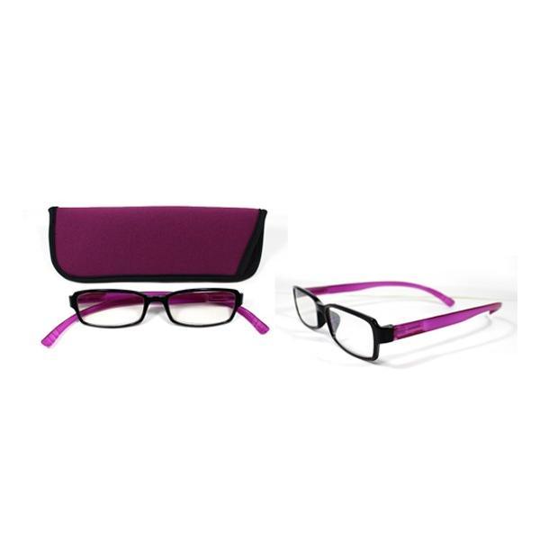 老眼鏡 ネックリーダー G082-13 パープル