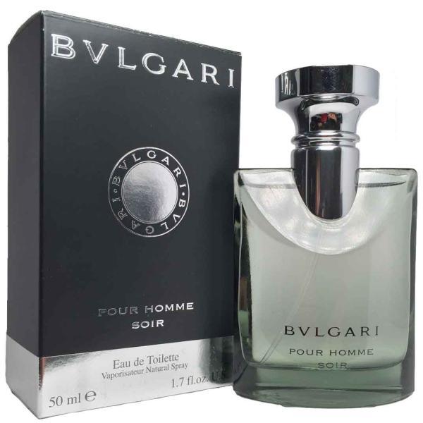 ブルガリ BVLGARI ブルガリ プールオム ソワール オードトワレ EDT SP 50ml (あすつく 香水)|makelucky