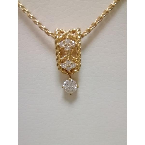星の砂ダイヤモンドブランドK18ネックラス(40センチ) HYP6740014 定価330,000円 送料無料!