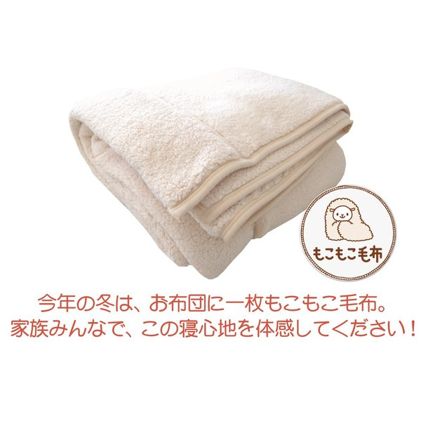 毛布 クイーン もこもこ毛布 (R) 200×200センチ 2枚合わせ あったか毛布 暖かい ギフトラッピング無料 ブランケット 冬|makura|13