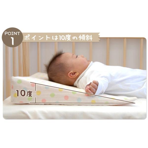 ベビー枕 サンデシカ 出産祝い 新生児 日本製 赤ちゃん スリーピングピロー|makura|06