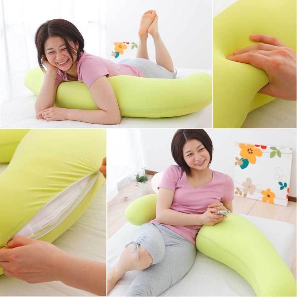 抱き枕 MOGU 気持ちいい抱き枕 (パウダービーズ入り ボディピロー) MOGU|makura|03