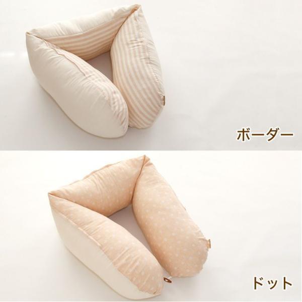 授乳クッション 抱き枕 日本製 ECOレシピ♪ オーガニックコットン ダブルガーゼ マルチピロー 妊娠中 妊婦 マタニティ ギフトラッピング無料|makura|05